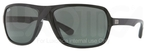 Ray Ban RB4192 Black with Green Lenses