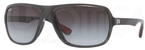 Ray Ban RB4192 Glossy Grey with Grey Gradient Lenses