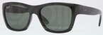 Ray Ban RB4194 Black with Crystal Green Lenses