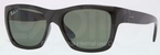 Ray Ban RB4194 Black with Polarized Green Lenses