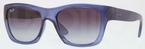 Ray Ban RB4194 Blue Demi Gloss with Crystal Grey Gradient Lenses