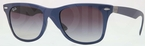 Ray Ban RB4195 Blue with Grey Gradient Lenses