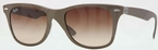 Ray Ban RB4195 Brown with Brown Gradient Lenses