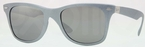 Ray Ban RB4195 Silver with Grey Silver Mirror Gradient