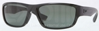 Ray Ban RB4196 Black with Green Lenses