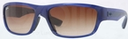 Ray Ban RB4196 Blue with Gradient Brown Lenses