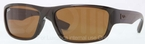 Ray Ban RB4196 Brown with Crystal Brown Lenses