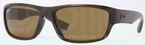 Ray Ban RB4196 Brown with Polarized Brown Lenses