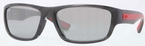 Ray Ban RB4196 Grey with Crystal Grey Mirror Lenses