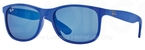 Ray Ban RB4202 Matte Blue/Blue Mirror Lenses