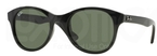 Ray Ban RB4203 Black w/ Crystal Green Lenses