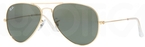 Ray Ban RB8041 Arista Gold with Crystal Green Lenses