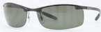 Ray Ban RB8305 Light Carbon with Polarized Green Lenses
