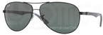 Ray Ban RB8313 Black wih Crystal Green Lenses