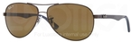Ray Ban RB8313 Brown with Polarized Crystal Brown Lenses