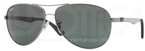Ray Ban RB8313 Gunmetal with Crystal Green Lenses