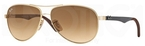 Ray Ban RB8313 Arista w/ Crystal Brown Gradient Lenses  001/51