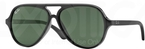 Ray Ban Junior RJ9049S Black w/ Green Lenses