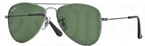 Ray Ban Junior RJ9506S Gunmetal with Green Lenses
