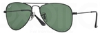 Ray Ban Junior RJ9506S Matte Black w/ Green Lenses