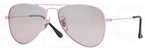Ray Ban Junior RJ9506S Pink w/ Pink Mirror Silver Gradient Lenses