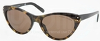 Ralph Lauren RL8070 Top Yellow Havana/Black with Brown Lenses