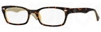 Ray Ban Glasses RX5150 Top Dark Havana on Opal Peach c5239