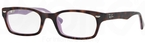 Ray Ban Glasses RX5150 Top Havana On Opal Violet