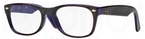 Ray Ban Glasses RX5184 Top Dark Havana on Violet