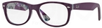 Ray Ban Glasses RX5184 Top Violet On Texture