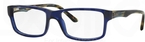 Ray Ban Glasses RX5245 TRANSPARENT DARK BLUE