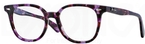 Ray Ban Glasses RX5299 Transparent Violet Havana