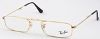 Ray Ban Glasses RX6262 Arista Gold