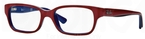 Ray Ban Junior RY1527 Top Red on Blue