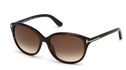 Tom Ford TF329 Karmen Dark Havana with Gradient Brown Lenses