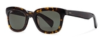 Tod's TO0121 Dark Havana with Green Lenses