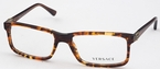 Versace VE3171 Striped Brown/Honey/Oran