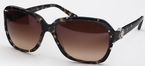 Versace VE4218B Spotted Black/Brown/Crys