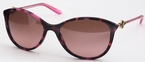 Versace VE4251 Havana Fuxia with Brown Gradient Pink Lenses