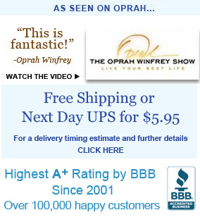 As seen on TV; free shipping; BBB A+