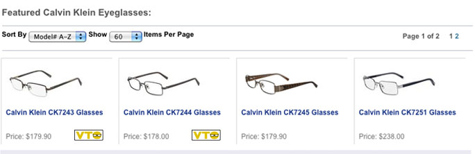 Featured CK Eyeglasses