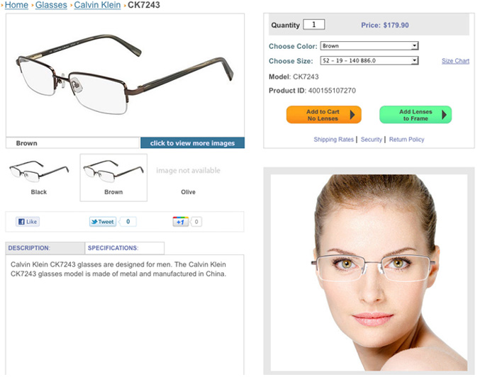 Eyeglasses, Glasses Frames, Prescription Lenses, & Sunglasses